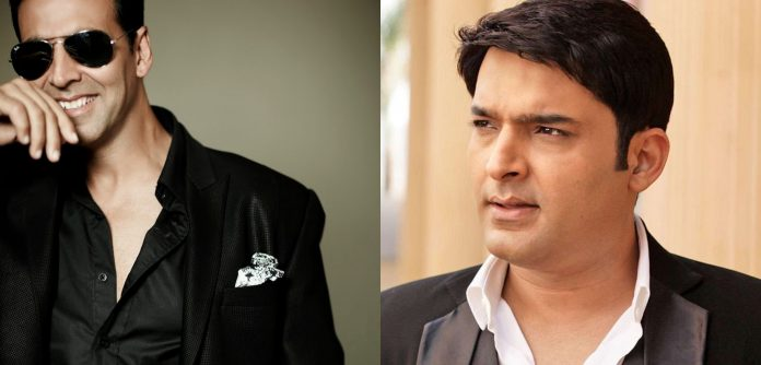 Akshay kumar and kapil sharma